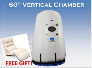 vertical hyperbaric chamber with free gift