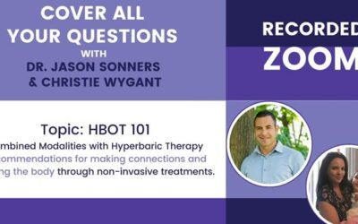 Dr Sonners: Combining Modalities with Hyperbaric Therapy (Video)
